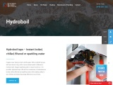 Hydroboil taps – Instant boiled, chilled, filtered or sparkling water