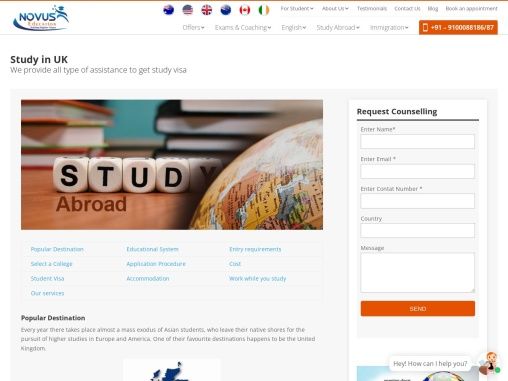 UK Study Abroad Consultant in Hyderabad