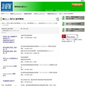 疑わしい取引の参考事例|JAFIC 警察庁