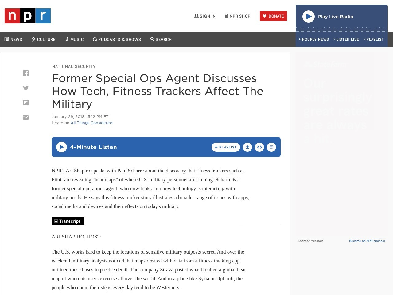 …Discusses How Tech, Fitness Trackers Affect The…