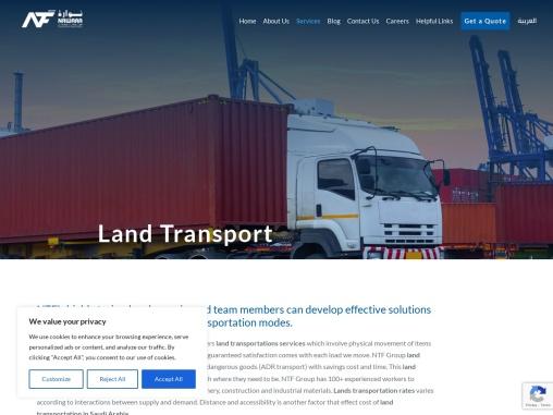 Land Transports Service | Land Transport Company