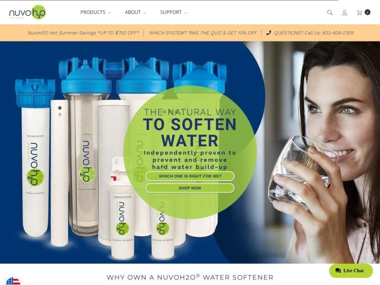 Nuvo H2O screenshot