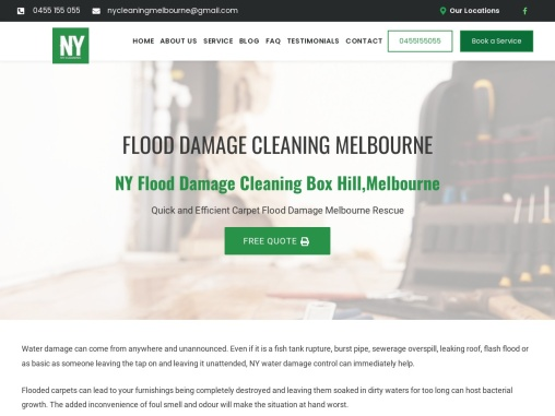 Affordable Flood Damage Cleaning Services in Box Hill, South East Melbourne