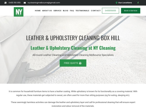 Cheap Leather Cleaning Services in Box Hill, South East Melbourne