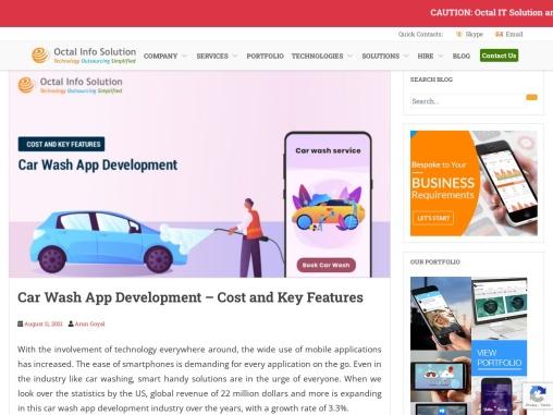 Car wash app development and Buy car wash app