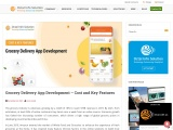 Grocery delivery app solution and Grocery mobile app development