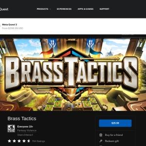 Oculus Riftの「Brass Tactics」 | Oculus