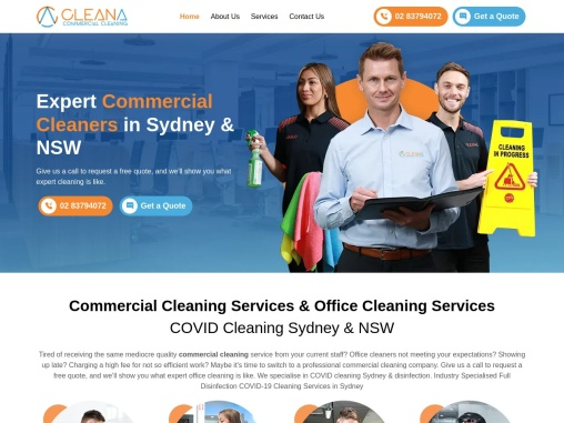 Pro Commercial Cleaning Company in Sydney