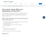 How To Fix Office 365 Installation Error Something went wrong