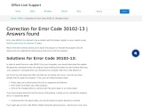 [Fixed] How to Fix Error Code 30102-13 | Solutions