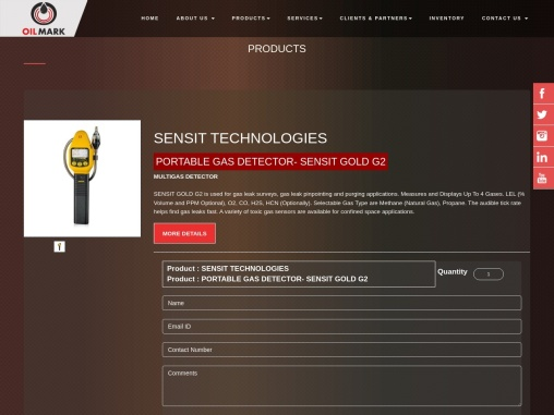 Order Portable Gas Detector In UAE at Best Price