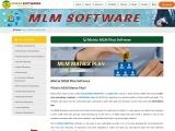 Matrix mlm plan | Forced Matrix MLM Software | Ladder Plan