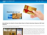 What is American Gift Card and How to Check Balance?