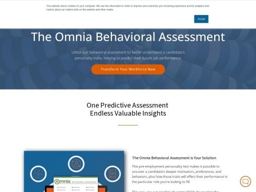 behavioral assessment test | behavioral assessment