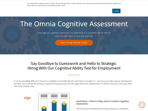 Cognitive Ability Test for Employment
