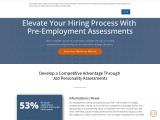 Pre Employment Assessment | Hiring Assessment