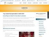 Leukemia definition by best leukemia doctor in Delhi