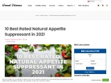 10 Best Rated Natural Appetite Suppressant in 2021