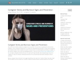 Caregiver Stress and Burnout: Signs and Prevention – Eleanor Gaccetta