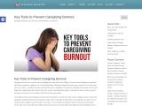 Key Tools to Prevent Caregiving Burnout
