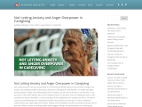 Not Letting Anxiety and Anger Overpower in Caregiving by Eleanor Gaccetta