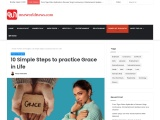 10 Simple Steps to practice Grace in Life