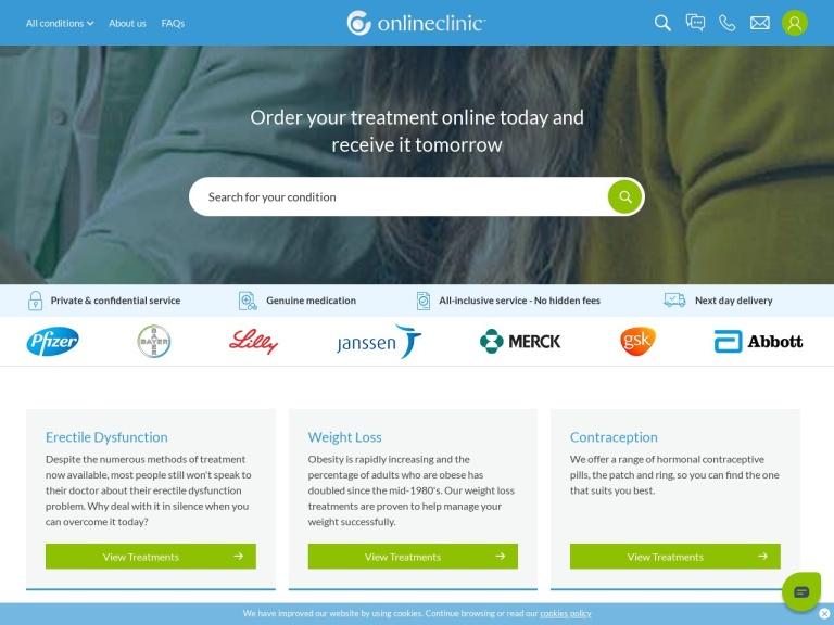 OnlineClinic screenshot