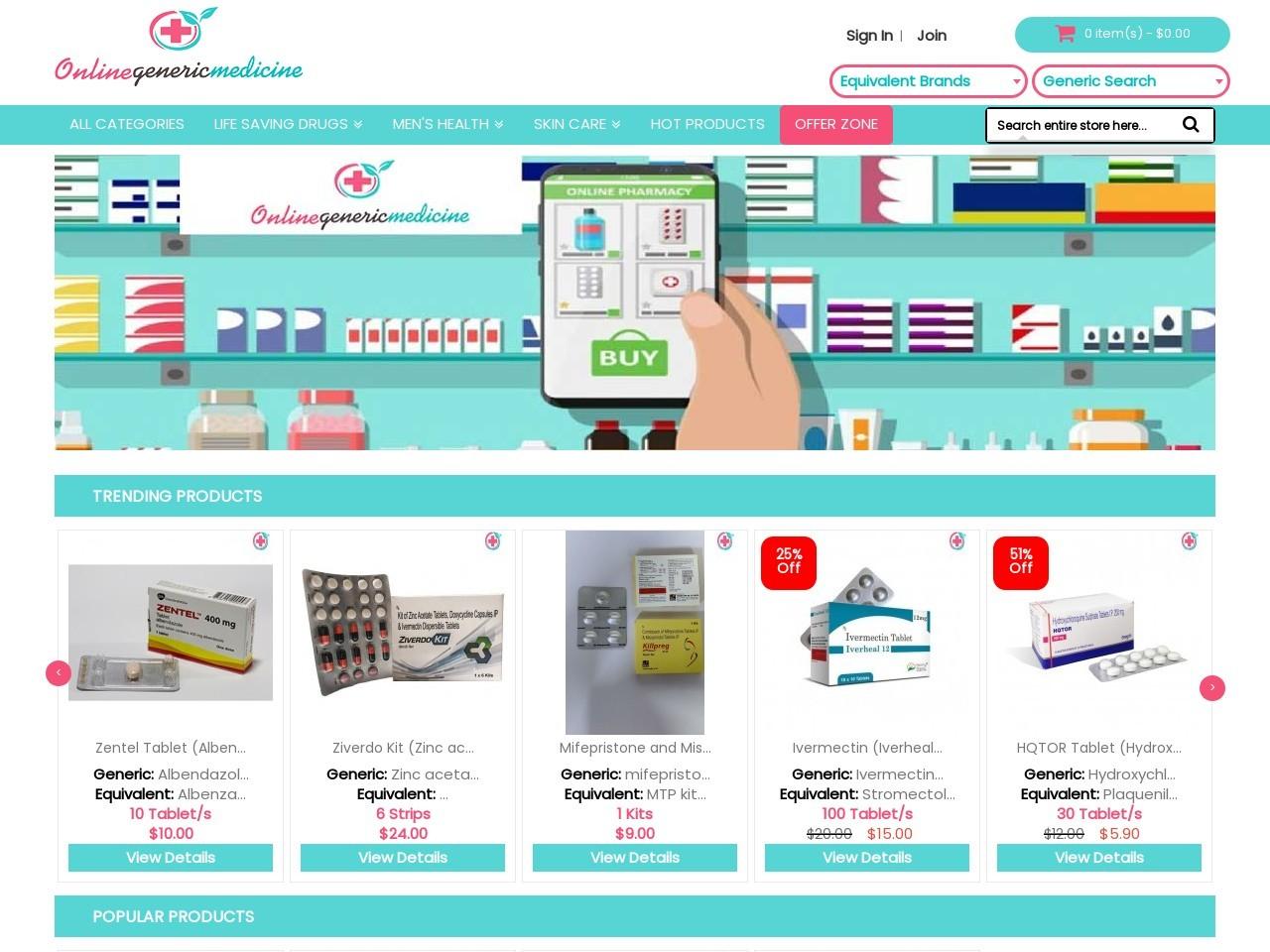 Buy Sildenafil Citrate At Best Price | OnlineGenericMedicine