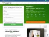 Get digital signature certificate for your business , dsc signature online at onlinelegalindia forum