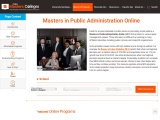 Online Masters in Public Administration