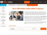 Most Affordable Online MSW Programs