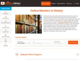 Online Masters in History 2021