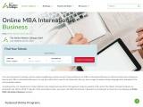 MBA International Business Online