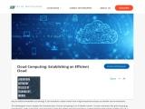 Cloud Computing Establishing an Efficient Cloud