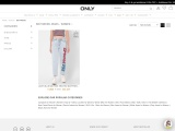 Get stylish High waisted Boyfriend Jeans from ONLY