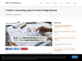 A Guide To Generating Leads For Interior Design Business