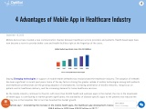 Benefits Of Mobile Health Apps In London | Healthcare App In London