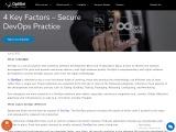 Top Key Factors – Secure DevOps Practice – DevOps Development Services In London