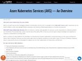 Azure Kubernetes Services In UK | US | Australia