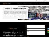 Interior Designers For Electrical Showroom | Orange Interior