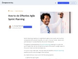How to do Effective Agile Sprint Planning