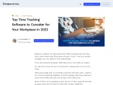 Top 11 Time Tracking Software for Your Workplace