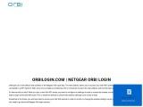 How to set up Netgear Orbi without an Orbi App?