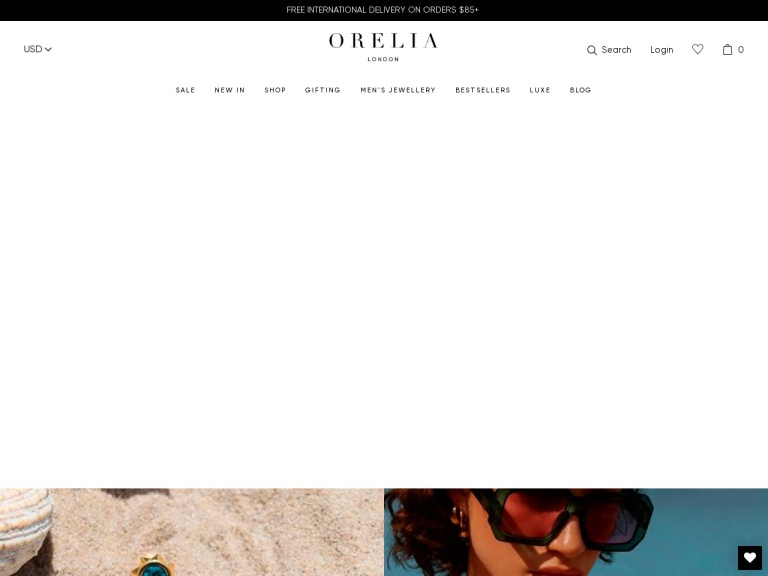 Orelia London Coupon Codes & Promo codes