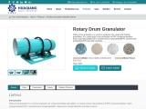 Profitable Rotary Drum Granulator | fertilizer pellet machine