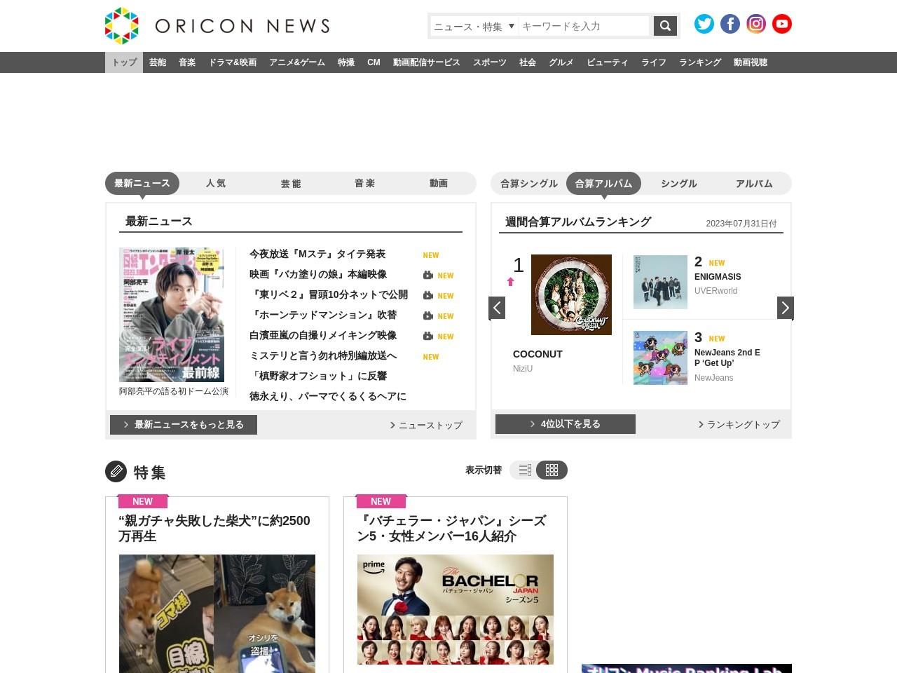 """第11回 男性が選ぶ""""なりたい顔""""ランキング"""