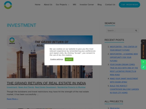 Why Investment in real estate click to know more
