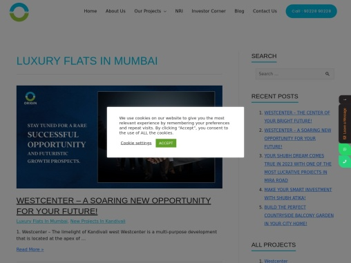 luxury flats in mumbai India click to know more