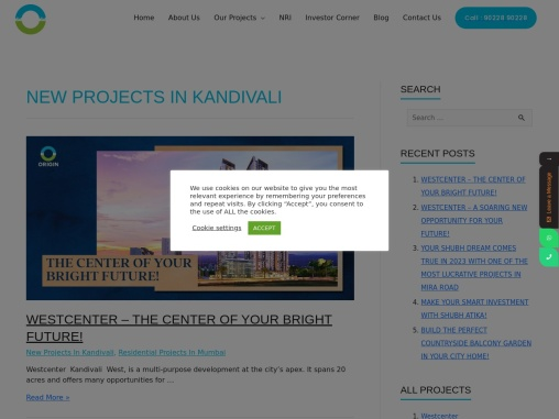 New Projects In Kandivali east & west click to know more