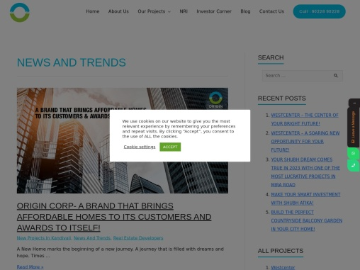 News and Trends of real estate India click to know more